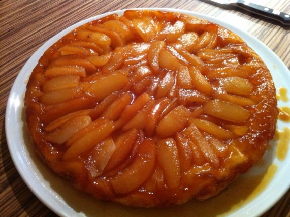Tarte Tatin pommes & poires